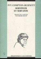 Serviteur Et Servante - Couverture - Format classique