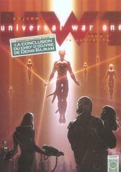 Universal war one t.6 ; le patriarche - Intérieur - Format classique