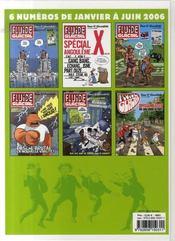 FLUIDE GLACIAL N.21 ; reliure 1er semestre 2006 - 4ème de couverture - Format classique