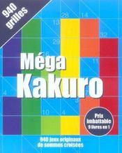 Mega Kakuro - Intérieur - Format classique