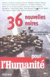 36 nouvelles noires pour l'huma - Intérieur - Format classique