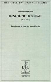 Iconographie des signes (1853-1854) - Couverture - Format classique