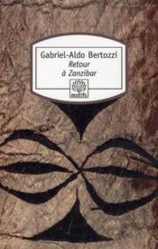 Retour à Zanzibar - Couverture - Format classique