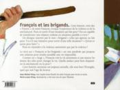 François et les brigands - 4ème de couverture - Format classique