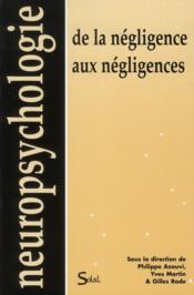 De la negligence aux negligences - Couverture - Format classique