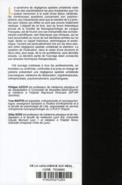 De la negligence aux negligences - 4ème de couverture - Format classique