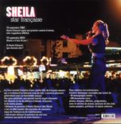 Sheila star française ; 50 ans ensemble - 4ème de couverture - Format classique