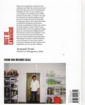 Brut de Camargue ; cuisine sous influence locale - 4ème de couverture - Format classique