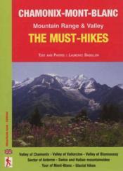 Chamonix-mont-blanc the must-hikes - Couverture - Format classique