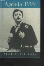 Agenda Proust 1999 - Couverture - Format classique