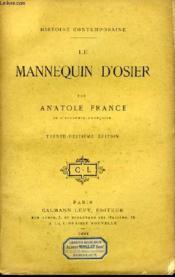Le Mannequin d'Osier. - Couverture - Format classique