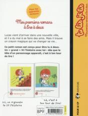 Le crayon magique ; le cheval de Lucas ! - 4ème de couverture - Format classique