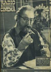 Radio Television Cinema - N°423 - Couverture - Format classique