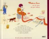 Madame Cerise et le trésor des pies voleuses - 4ème de couverture - Format classique