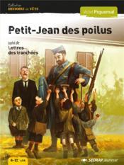 Petit-jean des poilus - roman - Couverture - Format classique