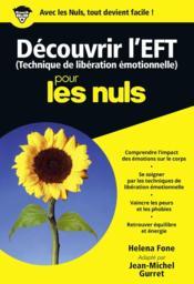 Découvrir l'EFT pour les nuls - Couverture - Format classique
