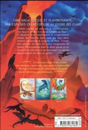 Les royaumes de feu T.4 ; l'île au secret - 4ème de couverture - Format classique