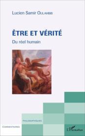 Etre et verite - du reel humain - Couverture - Format classique