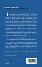 Securite d'entreprise : le defi des menaces asymetriques - Couverture - Format classique