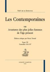 Les contemporaines ou aventures des plus jolies femmes de l'âge présent t.7 ; nouvelles 168-187 - Couverture - Format classique