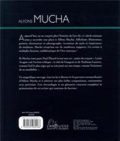 Alphons Mucha - 4ème de couverture - Format classique