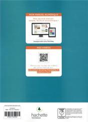 Famille des métiers de la relation client ; 2de Bac pro ; livre de l'élève (édition 2019) - 4ème de couverture - Format classique