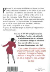 Agatha Raisin enquête T.24 ; gare aux empoisonneuses - 4ème de couverture - Format classique