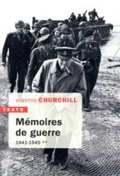 Mémoires de guerre t.2 ; 1941-1945 - Couverture - Format classique