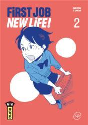 First job, new life T.2 - Couverture - Format classique
