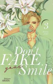 Don't fake your smile T.3 - Couverture - Format classique