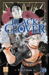 Black Clover T.24 - Couverture - Format classique