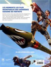 Chroniques de Fortnite t.2 - 4ème de couverture - Format classique