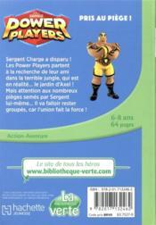 Power players T.2 ; pris au piège ! - 4ème de couverture - Format classique