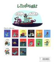 Le piratosaure et la caverne des poulpes-voleurs - 4ème de couverture - Format classique