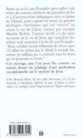 Le cinquième Evangile ; d'après les agrapha et quelques mystiques - 4ème de couverture - Format classique