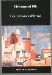 Les terrasses d'Orsol - Couverture - Format classique