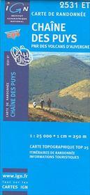 Chaine des Puys ; 2531 ET - Intérieur - Format classique