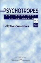 Revue Psychotropes ; Polytoxicomanies - Couverture - Format classique