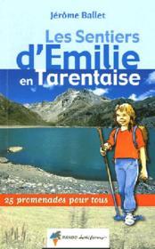 Emilie en tarentaise - Couverture - Format classique