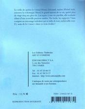 Cher Edouard - 4ème de couverture - Format classique
