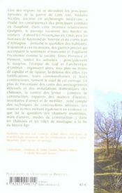 La Guerre Et Les Fortifications Du Haut Dauphine ; Etude Archeologique Des Travaux Des Chateaux Et Des Villes A La Fin - 4ème de couverture - Format classique