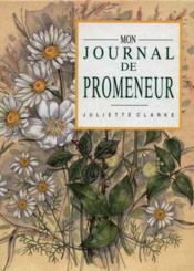 Le journal du promeneur - Couverture - Format classique