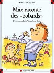 Max raconte des bobards - Intérieur - Format classique