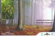 Gestion forestiere et diversite biologique domaine continental classeur - Intérieur - Format classique