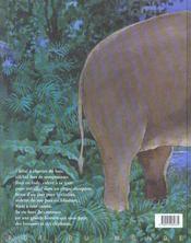 Siam ; la grande histoire de Siam, éléphant d'Asie - 4ème de couverture - Format classique