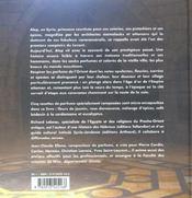 Parfums d'orient - 4ème de couverture - Format classique