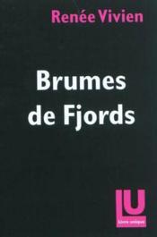 Brumes de fjords - Couverture - Format classique