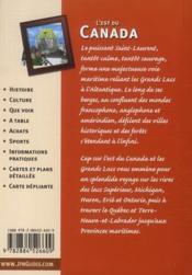 Cap Sur ; L'Est Du Canada Et Les Grands Lacs ; Les Trappeurs - 4ème de couverture - Format classique