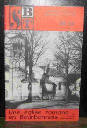 Une Eglise Romane En Bourbonnais - Agonges - Couverture - Format classique