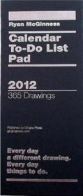 Ryan Mcginness Calendar To Do List Pad 2012 /Anglais - Couverture - Format classique
